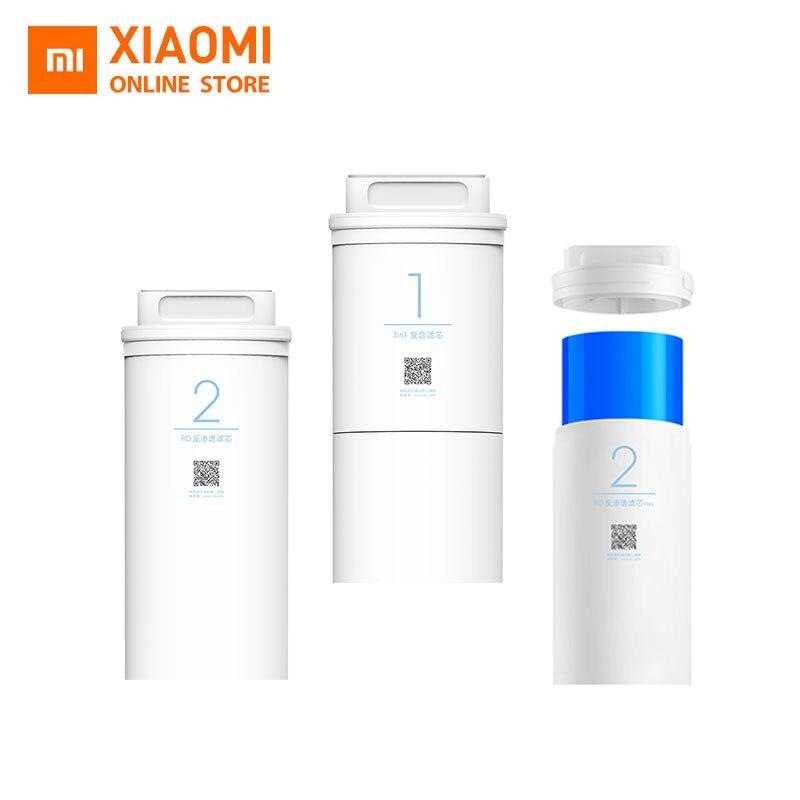 Xiaomi Mi-filtro purificador de agua, Original, 500G/1A, para cocina, núcleo inferior, Smartphone, Control remoto, filtro de agua