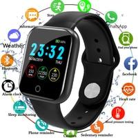 Мужские и женские Смарт-часы с монитором артериального давления, водонепроницаемые Смарт-часы с трекером активности, спортивные часы Bluetooth ...