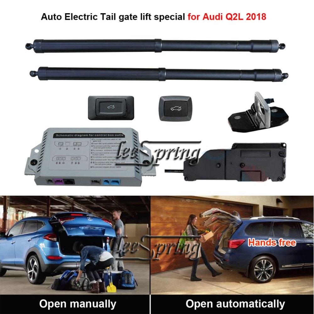 Coche inteligente para automóbil elevador eléctrico para puerta trasera especial para Audi Q2 Q2L 2018