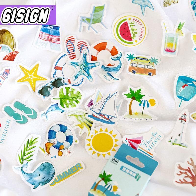 50 Uds. Pegatinas bonitas de papelería de coches pegatinas Kawaii adhesivos de papel para niños DIY álbum de recortes diario espacio para ordenador portátil