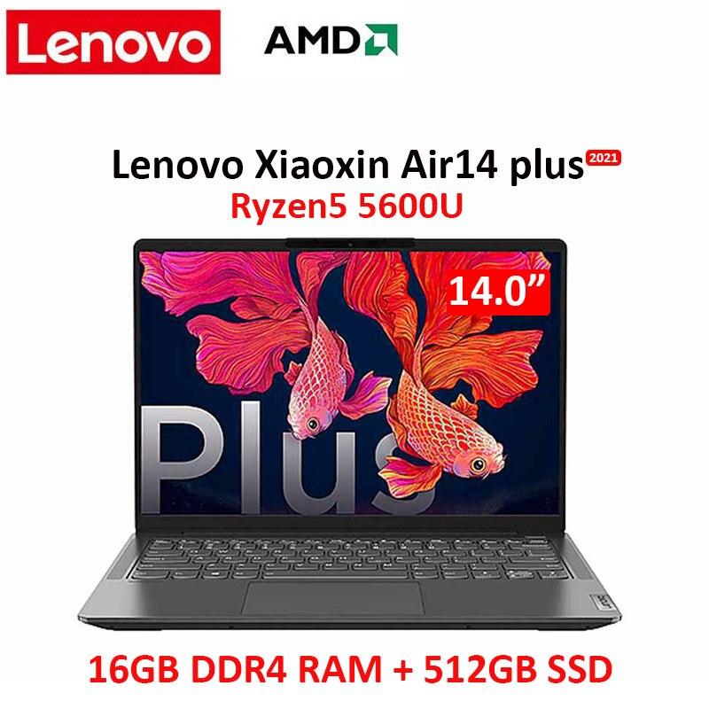 Lenovo portátil de aire 14 más Yi nuevo 2021 AMD Ryzen 5...