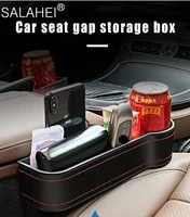 car storage box car seat crevice plastic cup phone holder organizer reserved design universal auto multi function accessories