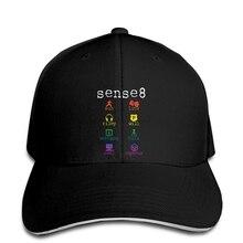 Baseball Cap Sense 8 TV Sense8 Science Fiction Men Popular Kpop Big Custom Snapback hat peaked