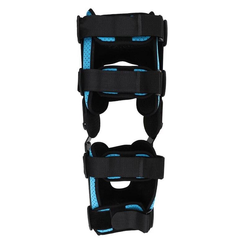Nuevo caliente M soporte de órtesis de rodilla junta de soporte estabilizador fractura Protector fijo férula pierna Protector