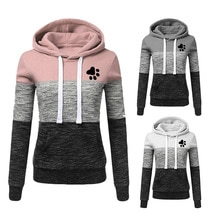 Women Hoodies Sweatshirts Autumn Winter Long Sleeve Pocket Pullover Hoodie 2019 Female Casual Warm P