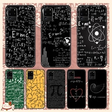 Mathematics chemistry physics Phone case For Samsung Galaxy Note 4 8 9 10 20 S8 S9 S10 S10E S20 Plus