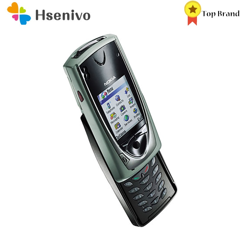 Nokia 7650 Refurbished-Original Unlocked Nokia 7650 mobile Phone Collect Slide phone 750 mah One Yea
