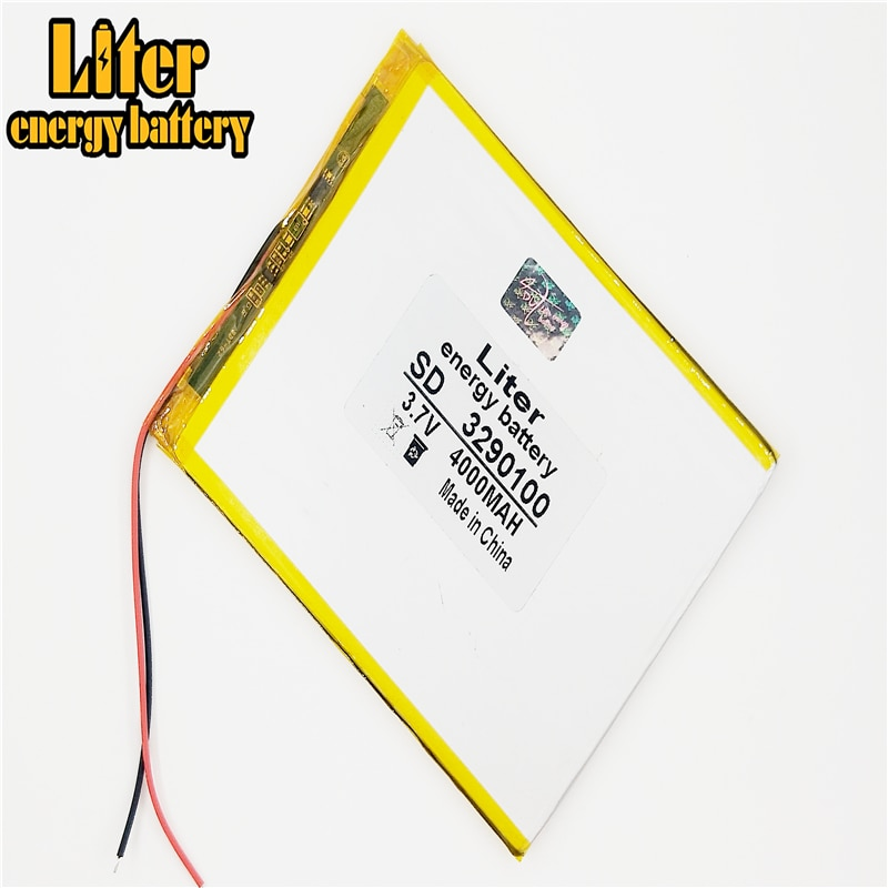 3.7V,4000mAH,3290100 PLIB; polymer lithium ion / Li-ion battery for GPS,mp3,mp4,mp5,dvd,bluetooth,model toy mobile bluetooth