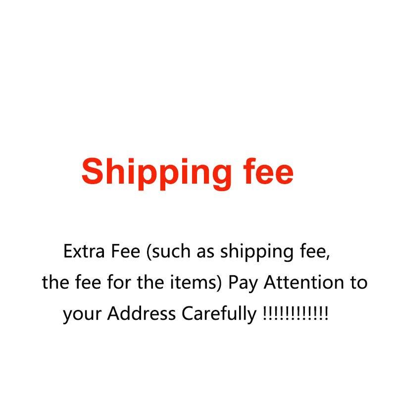 Taxa extra (como taxa de envio, taxa para os itens) preste atenção ao seu endereço com cuidado!!