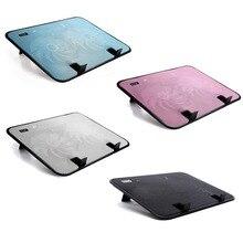 Горячая продажа 14 дюймов Тетрадь кулер 5В USB внешний для ноутбука охлаждающая подставка высокое Скорость бесшумный вентилятор металлически...