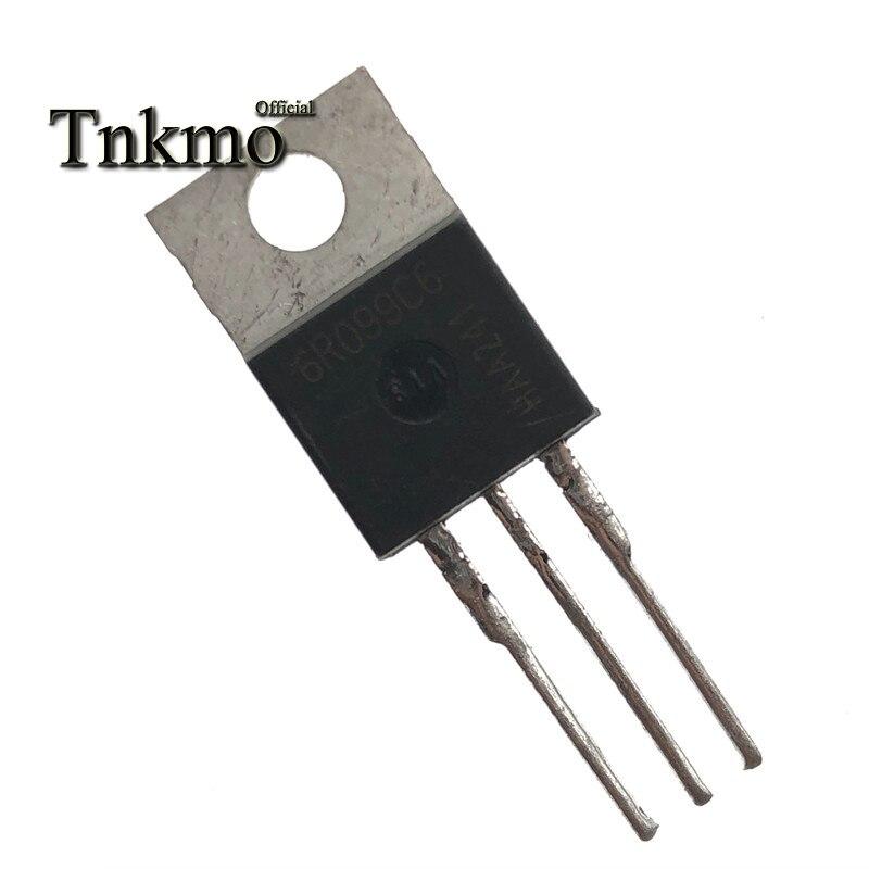 10PCS IPP60R099C6 IPP60R099C7-220 6R099C6 60C7099 TO220 38A 600V Transistor MOSFET entrega gratuita