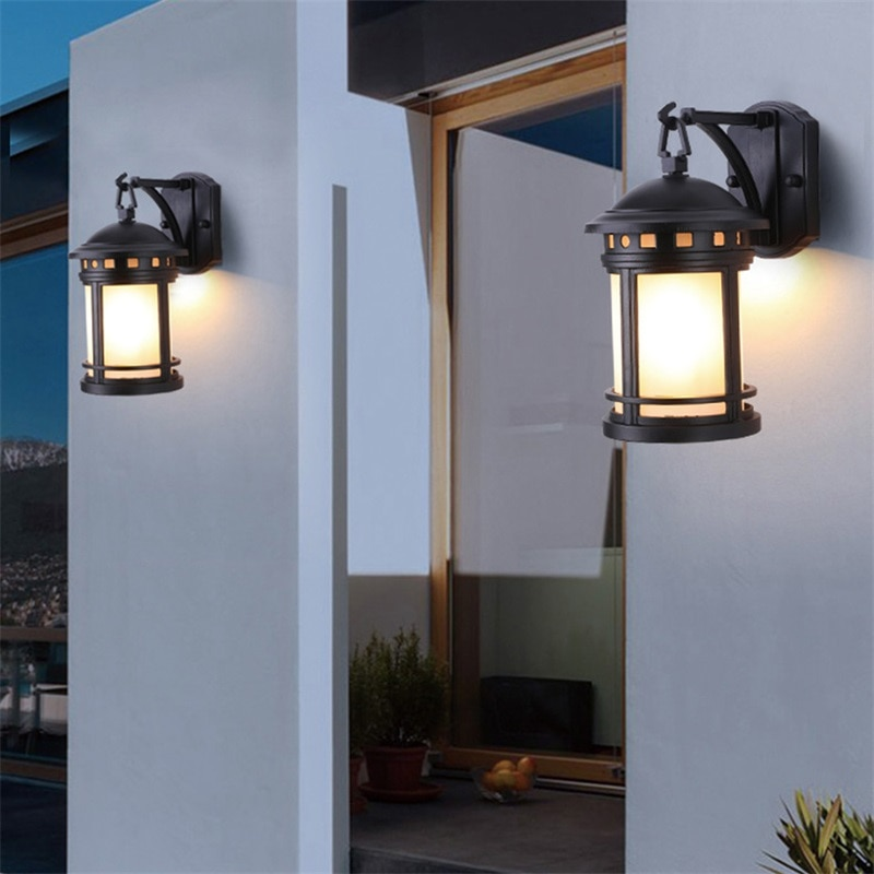 AOSONG Outdoor Retro Wall Lamp Classical Sconces Light Waterproof IP65 LED For Home Porch Villa enlarge