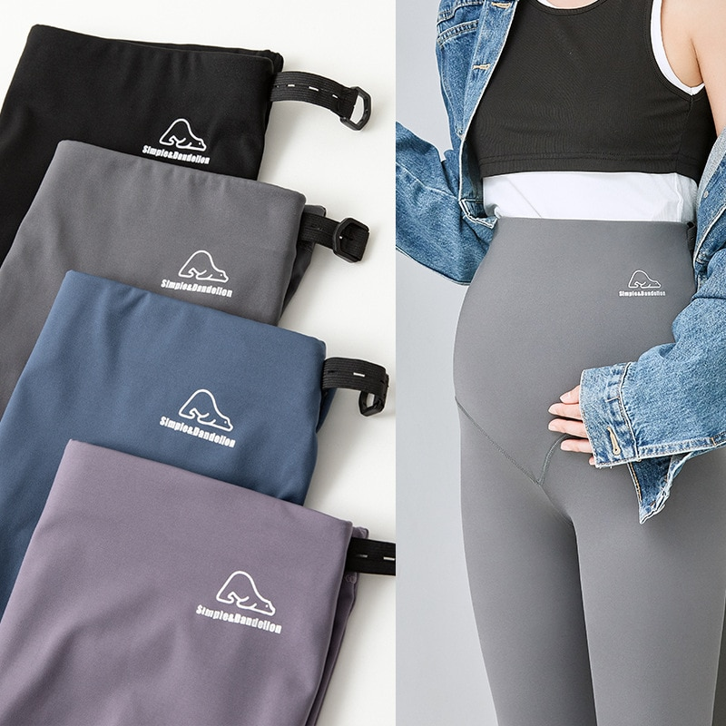 High Belly Leggings Pant for Pregnant Women Maternity Clothes Pregnancy Pants Maternity Yoga Pants Maternity Clothing