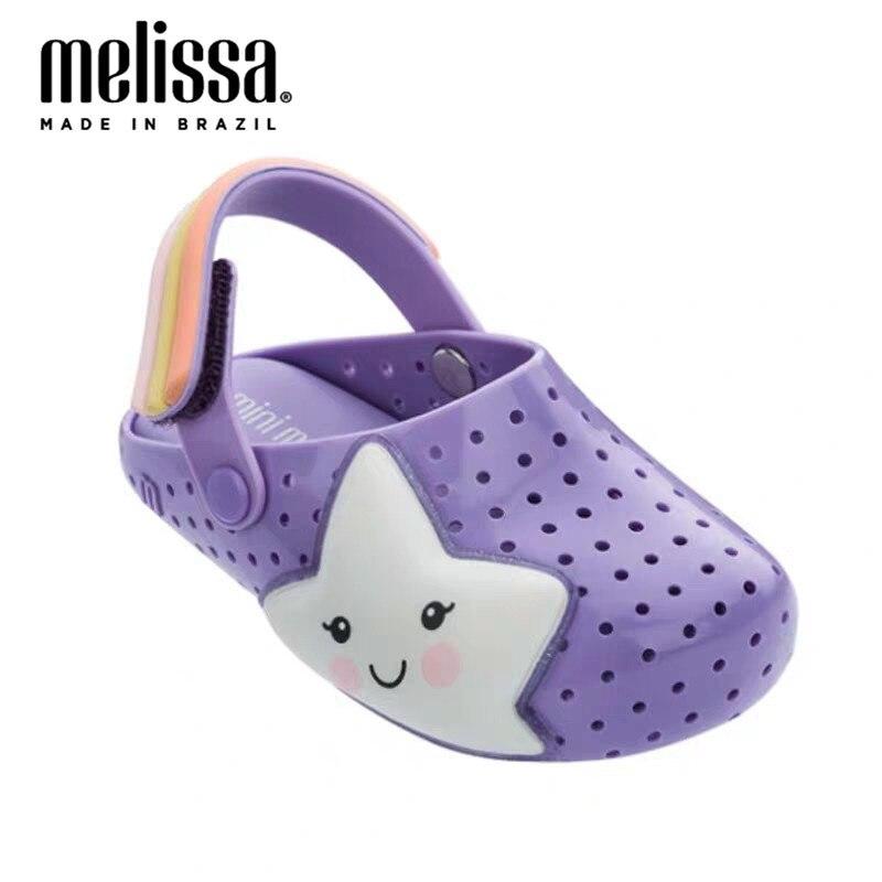 Mini Melissa Boyes Niña Zapatos de gelatina sandalias de playa 2020 zapatos de bebé Melissa sandalias de playa niños zapatos de princesa