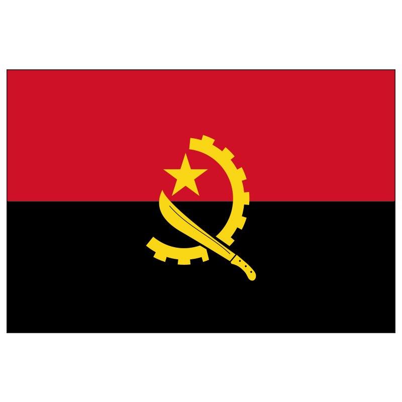 Бесплатная доставка, Флаг Анголы xvggdg 90x150 см, баннер, подвесные флаги Анголы, баннер