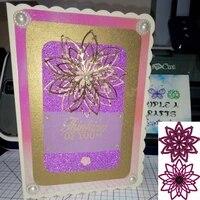new design craft metal cutting dies cut die 2pcs flower decoration scrapbooking album paper card craft embossing die cuts