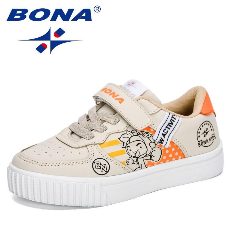 BONA-أحذية رياضية كلاسيكية ومريحة للأطفال والمراهقين ، أحذية رياضية عصرية ومريحة ، للطلاب ، 2020