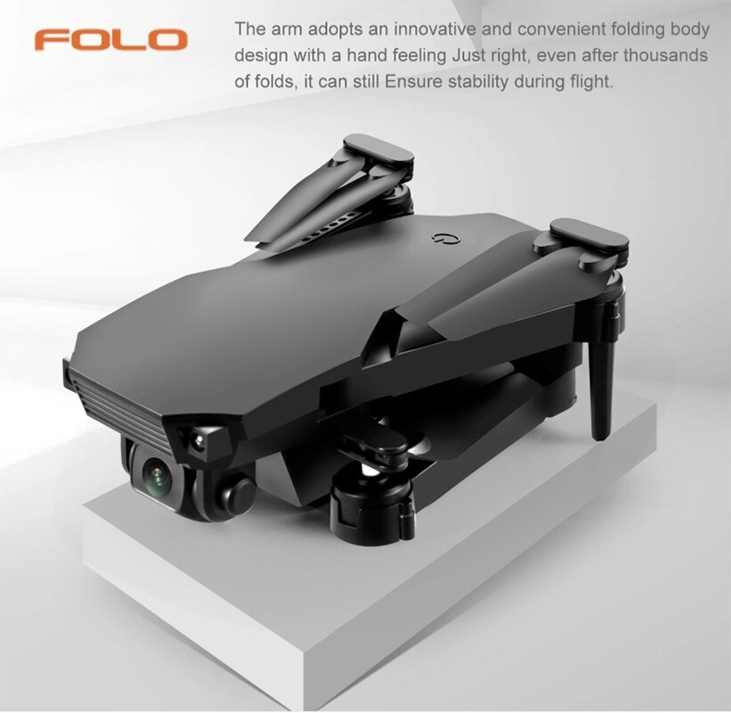 2020 New S70 Drone 4K HD Dual Camera Foldable Height Keeping Drone WiFi FPV 1080p Real-time Transmission RC Quadcopter Drone toy enlarge