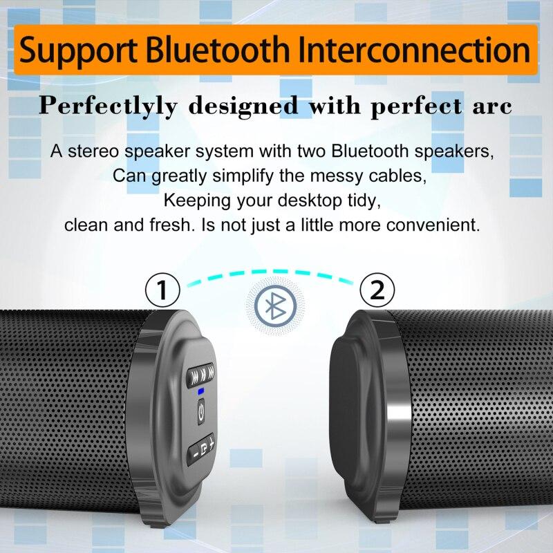 Bluetooth Speaker Sound Box Speaker Wireless Home Theater Sound System For TV Soundbar Box Subwoofer Radio Music Center Boom enlarge