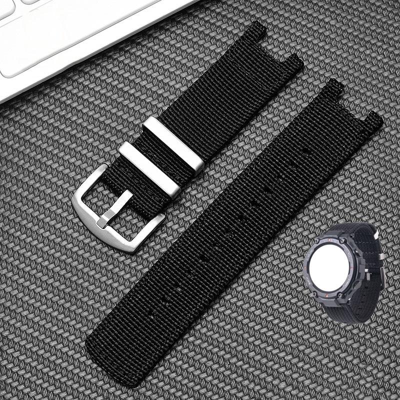 умные часы amazfit t rex smart watch standart eu зеленый камуфляж а1919 high quality nylon watchband for Amazfit T-REX Smart watch Strap sports outdoor for Huami Amazfit T rex Bracelet