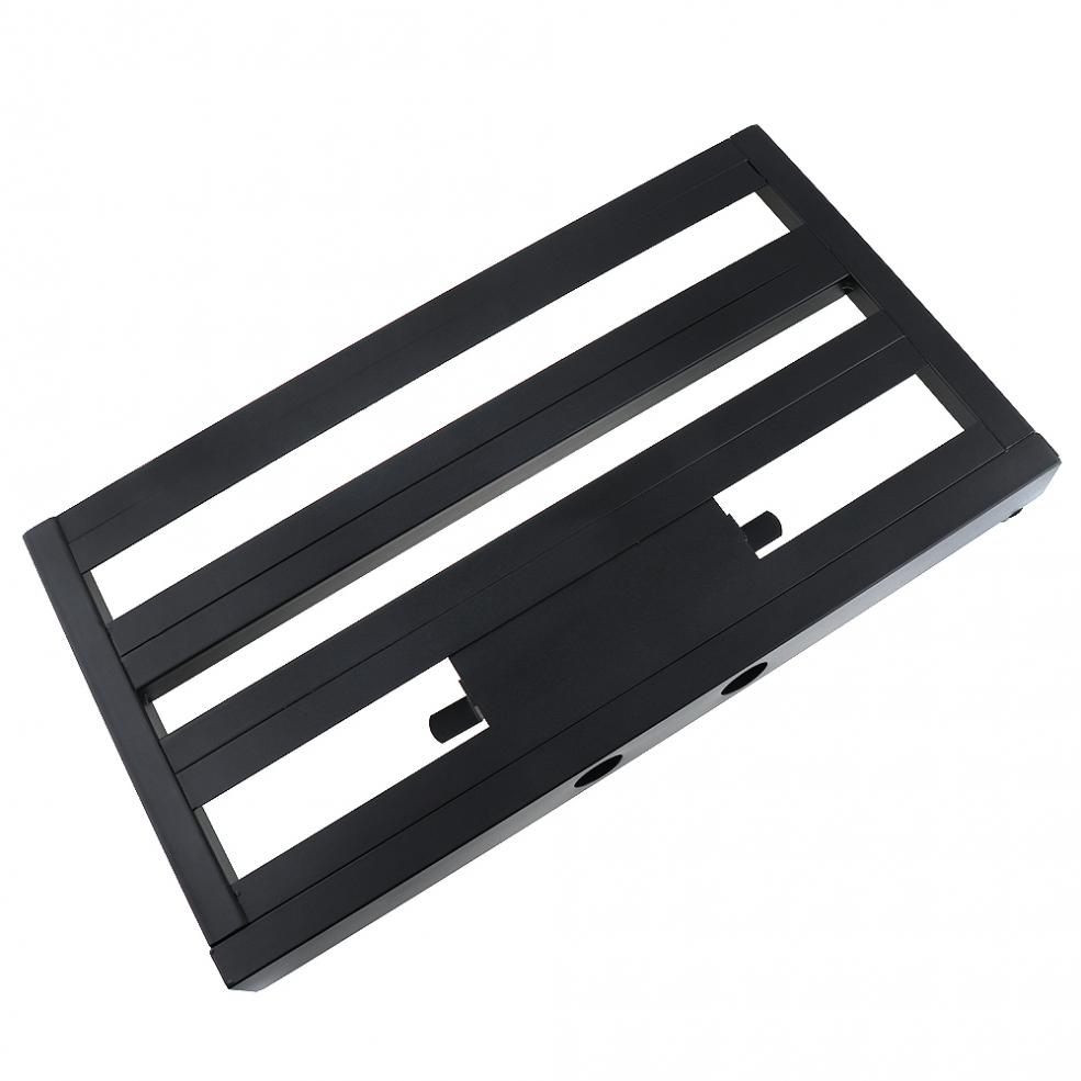 56 x 32cm Guitar Pedal Board Setup Bigger Style DIY Aluminum Alloy Guitar Effect Pedalboard with Installation Accessories enlarge