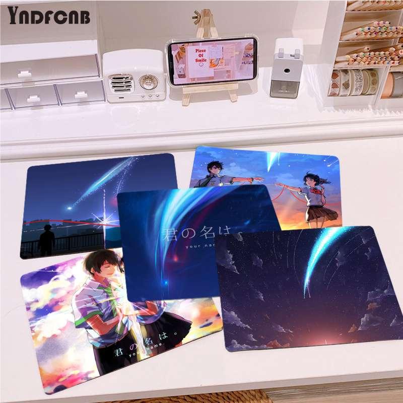 YNDFCNB Высокое качество аниме ваше имя ноутбук компьютер коврик для мыши для CS GO/LOL Лидер продаж оптовая продажа игровой коврик мышь