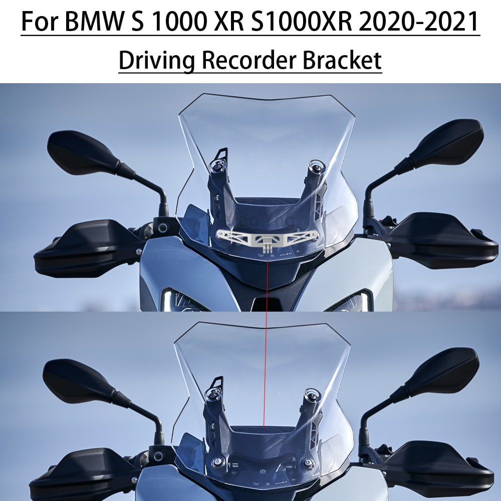 Фото - Для BMW S 1000 XR S1000XR 2020-2021For GoPro вождения кронштейн мотоцикла дальнего света кронштейн для регистратора Камера кронштейн кронштейн