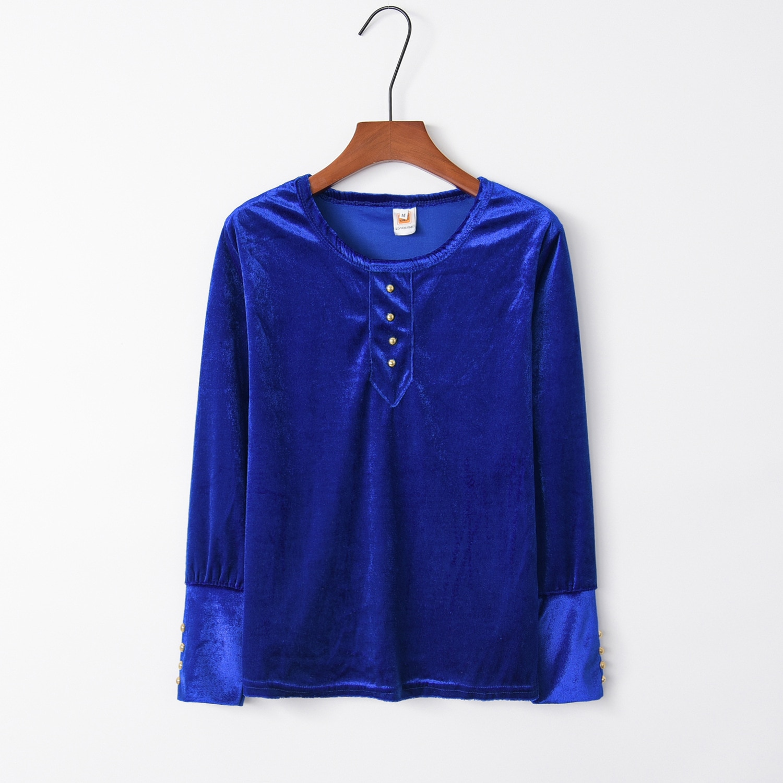 Botón azul 2020 nuevo diseño gran oferta sudaderas con capucha mujeres Casual Kawaii Harajuku sudadera chicas europeas Tops Coreanos