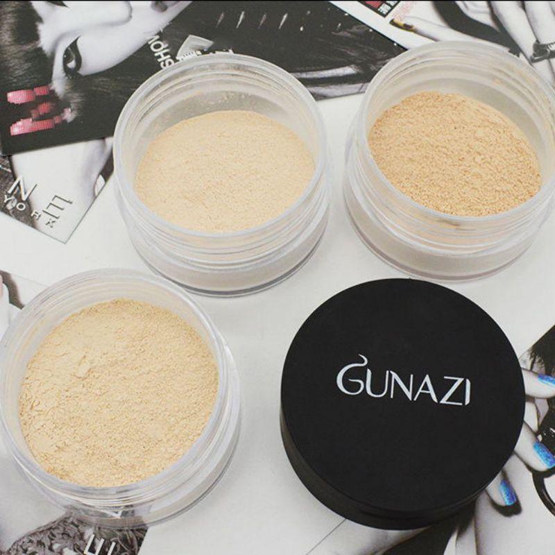 Maquillaje en polvo resistente al agua control de aceite de larga duración incluso el Color de la piel corrector de polvo suelto buen uso