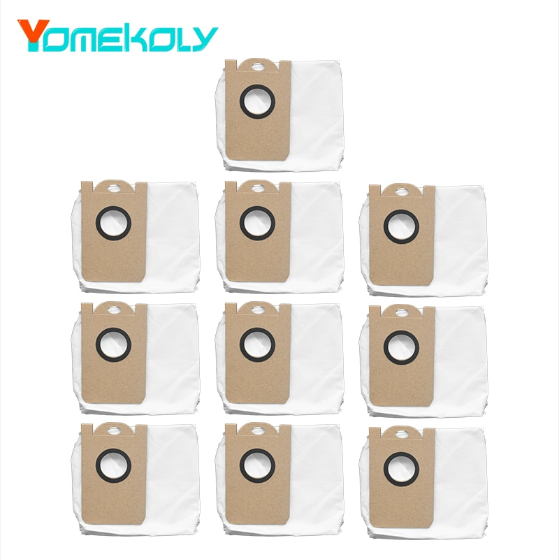 for VIOMI S9 Robot Vacuum Cleaner Dust bag Cleaner High Capacity Leakproof Dust Bag Replacement Accessories Parts Kits