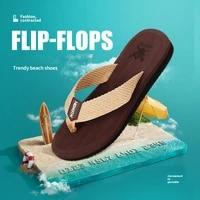 men shoes new arrival summer men flip flops high quality beach sandals anti slip zapatos hombre casual men slippers tx438