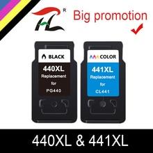 2PK PG440 CL441 Cartouche De Remplacement pour Canon PG 440 CL 441 PG440XL Cartouche Dencre pour Pixma MG4280 MG4240 MX438 MX518 MX378