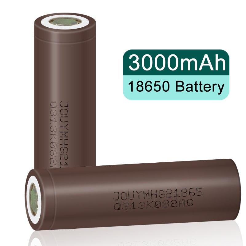 18650 оригинальный аккумулятор HG2 HG21865 3000 мАч 18650HG2 3,7 в Высокая мощность 30A разряд большой ток литий-ионный перезаряжаемый аккумулятор