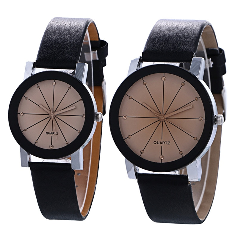 Fashion lovers convex meridian foreign trade leisure men and women belt watch children table electro