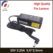 20V 3.25A 65W 5.5*2.5mm Laptop Charger For Lenovo U130 U350 U310 U410 U430 U450 Y430 Y460 Z360 G230