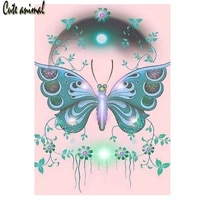 diy 5d diamond painting abstract butterfly flower diamond embroidery cross stitch full round square drill mosaic home decor