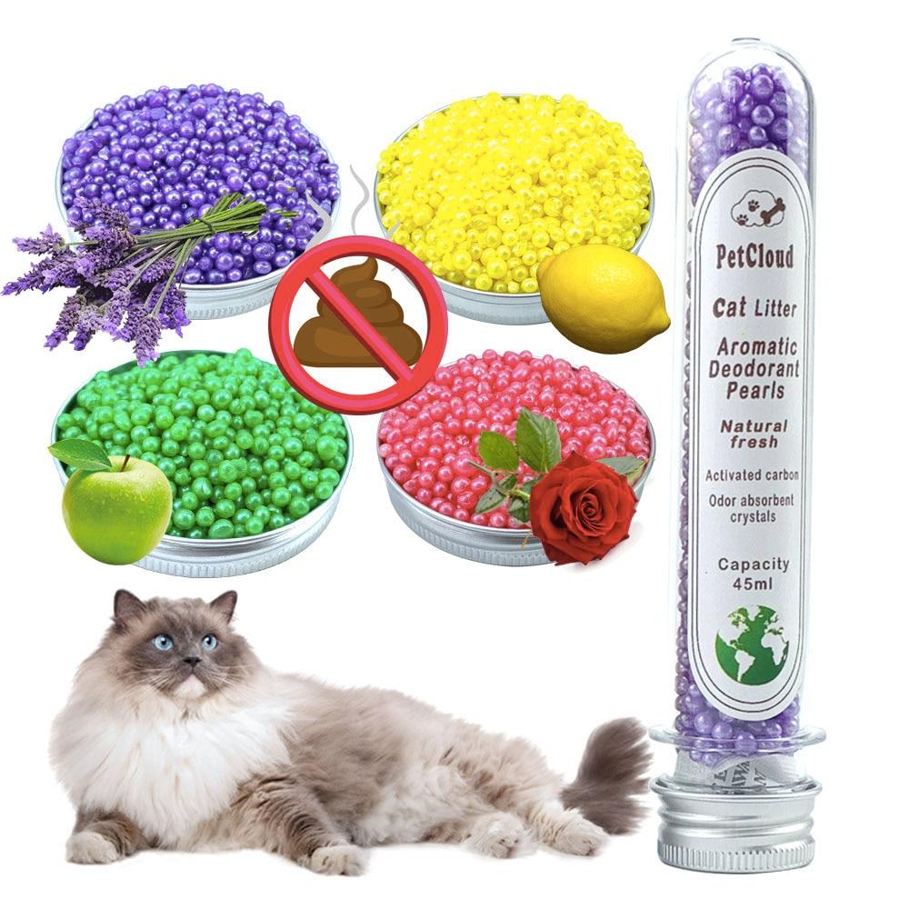 4 aromatične kuglice dezodoransa za mačje leglo miris aktivnog - Kućni ljubimci - Foto 2