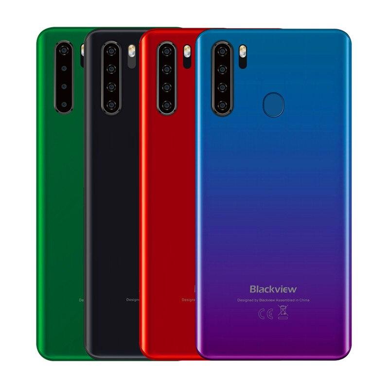Перейти на Алиэкспресс и купить Смартфон Blackview A80 Pro, 4 Гб + 64 ГБ, 6,3-дюймовый экран Waterdrop, Helio P25 восемь ядер, Android 9,0, глобальная версия, 4G мобильный телефон, 6,49 мАч