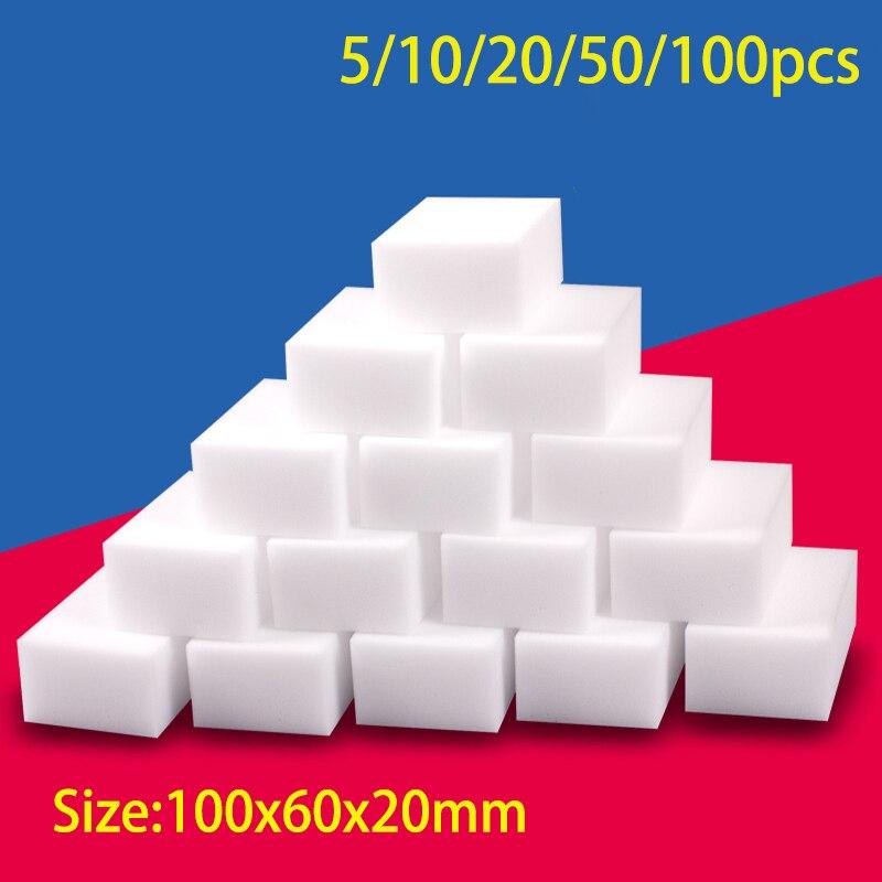 100*60*20mm Melamine Sponge Magic Sponge Eraser Melamine Sponge Cleaner Cleaning Sponge for Kitchen Bathroom Cleaning Tools