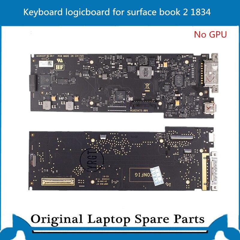 لوحة مفاتيح 1834 لوحة مفاتيح لكتاب سطح Miscrosoft 2 13.5 بوصة لا وحدة معالجة الرسومات تم اختبارها بشكل جيد