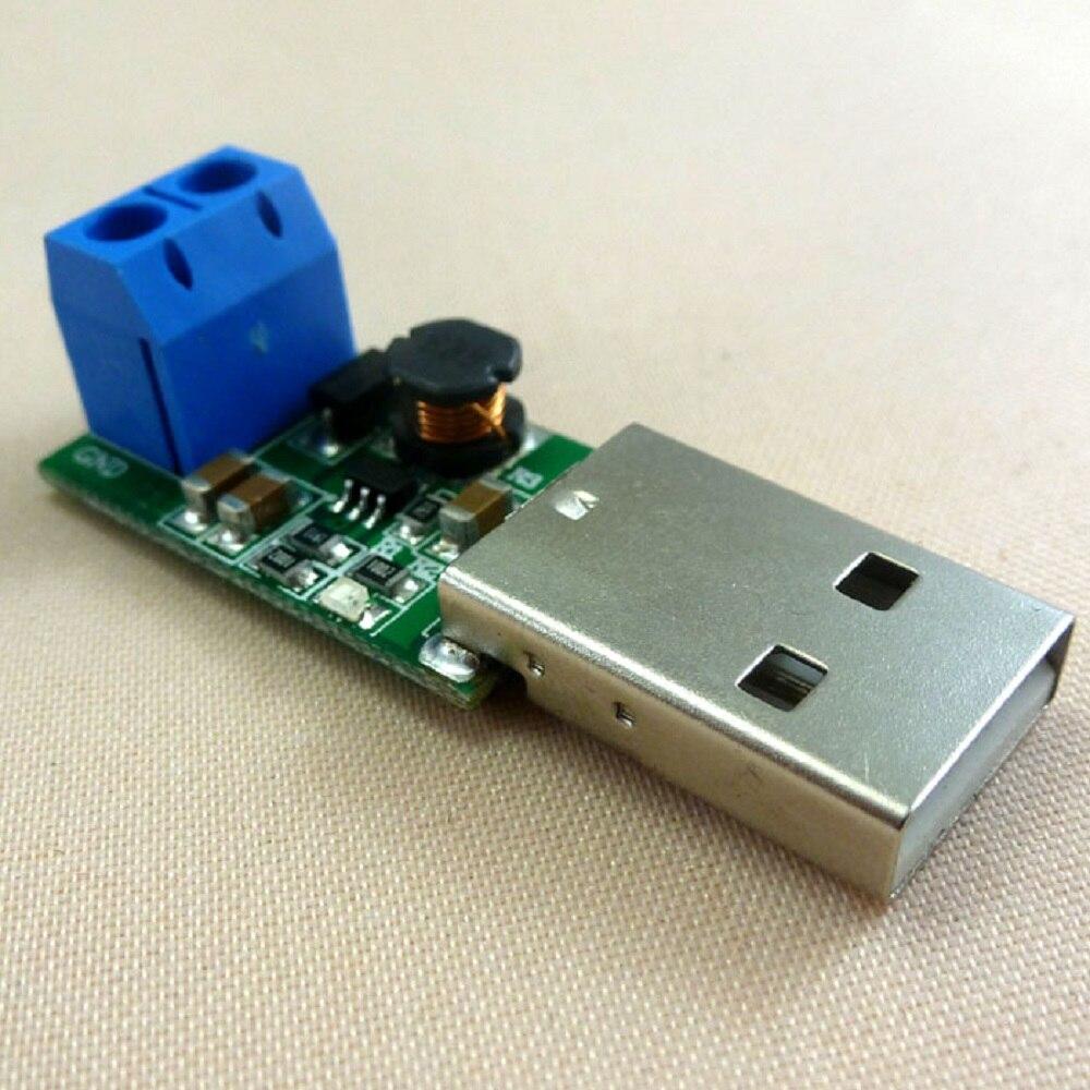 5 w usb 5 v a 12 v dc dc conversor intensificar módulo de impulso para led moter controlador sem fio carregador solar