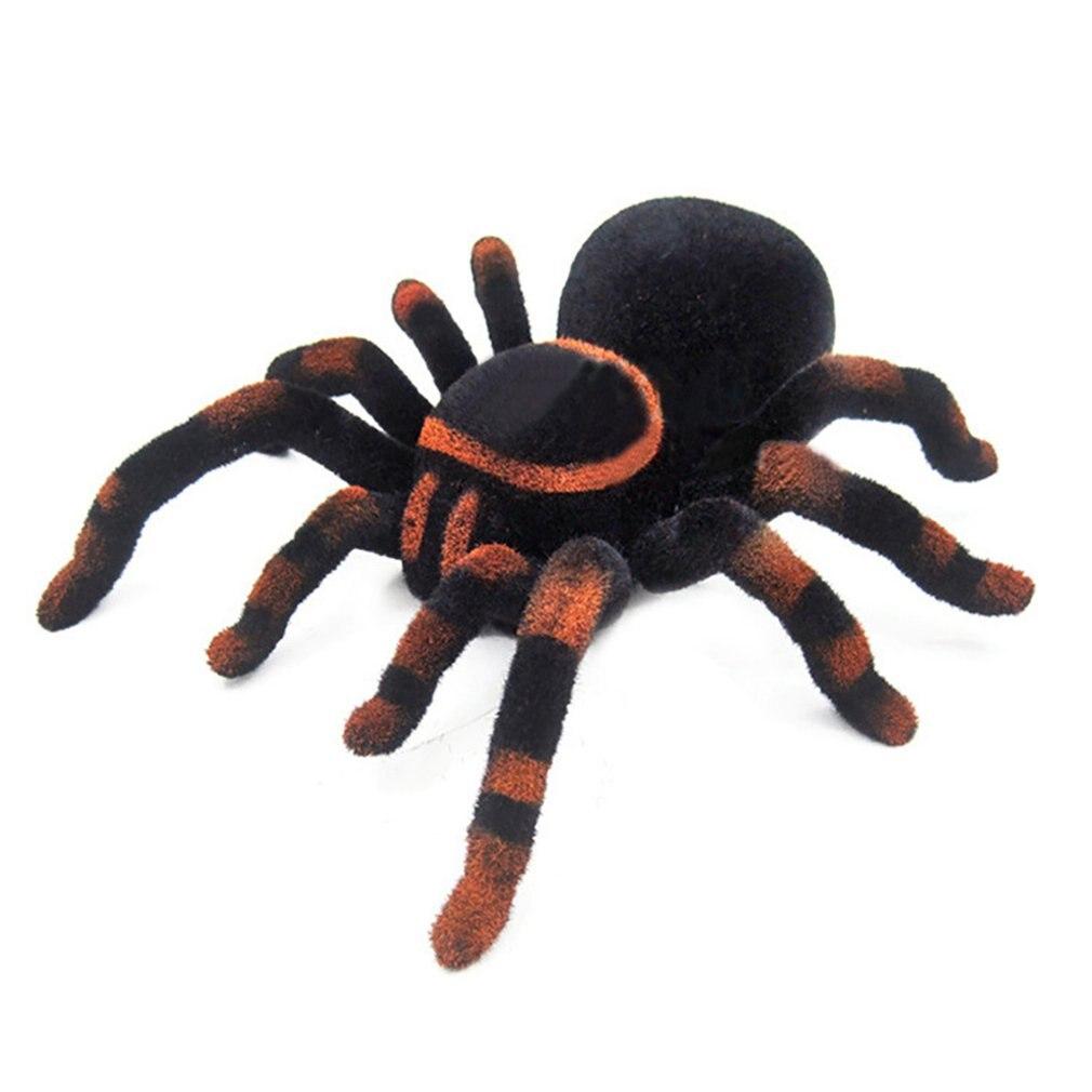 Araña de escalada de pared juguetes de Control remoto infrarrojo RC Tarantula chico juguete de regalo simulación de araña electrónica peluda para chico s Boys