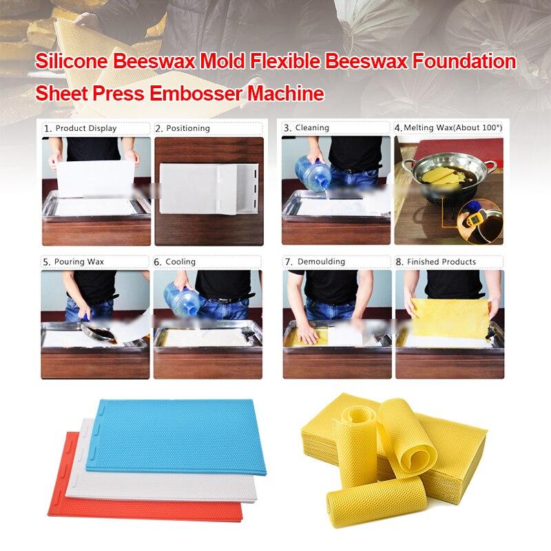 2 шт./компл., резиновый пресс-лист для пчелиного воска