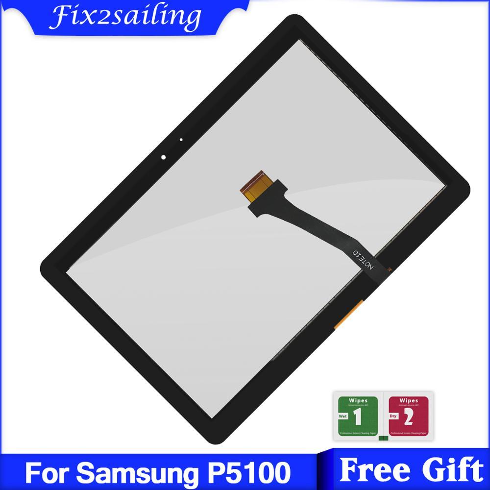 For Samsung Galaxy Tab 2 P5100 P5110 N8000 N8010 Touch Screen Digitizer Panel Sensor Lens Glass