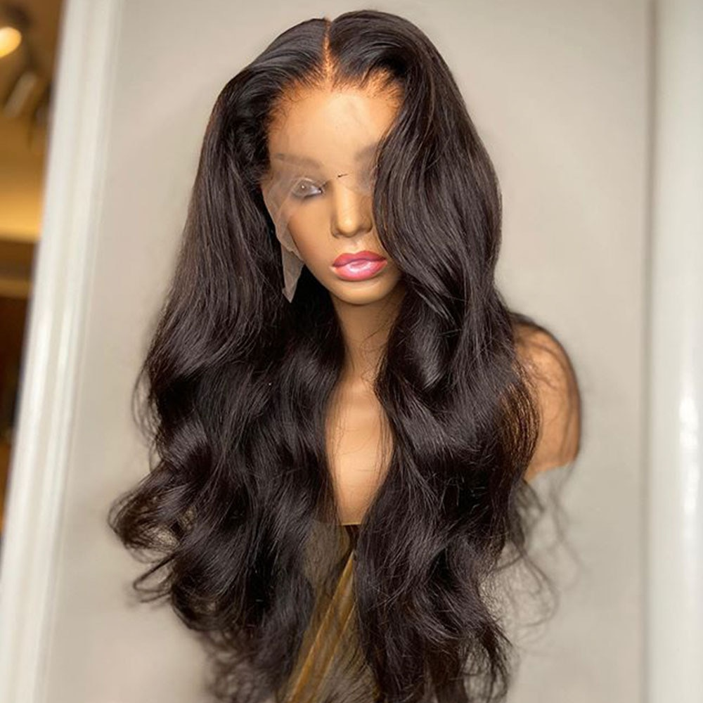 Glueless Full Lace Wigs Brazilian Hair Body Wave Wig Full Lace Front Human Hair Wigs For Black Women Undetectable Lace 130 Remy