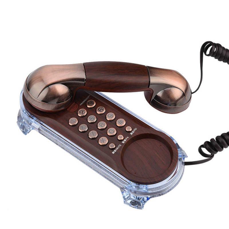 Antike Retro Wand Montiert Telefon Corded Telefon Festnetz Mode Telefon vintage telefon für Home Hotel retro telefone