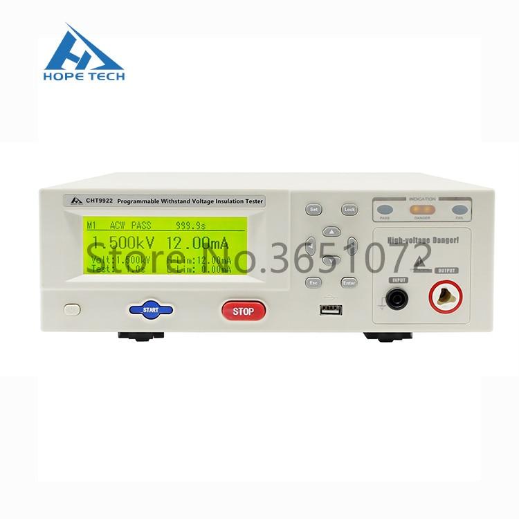 CHT9922-جهاز اختبار Hipot AC/DC ، جهد تيار متردد/تيار مستمر ، مقاومة العزل