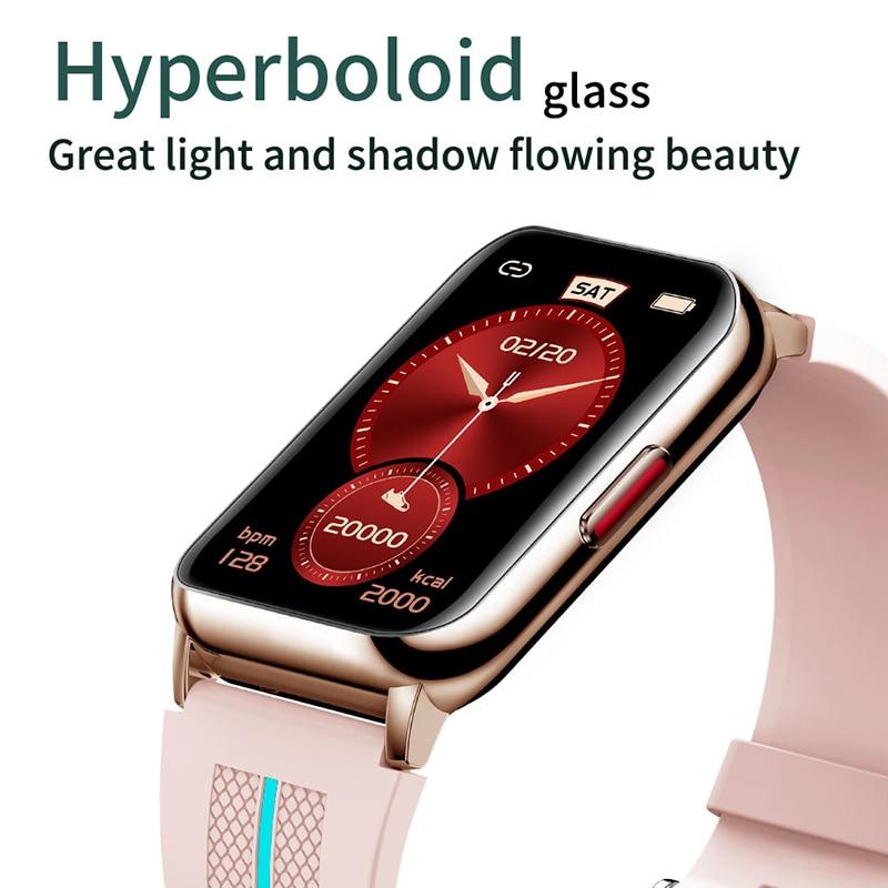IWO PRO H76 Smart Watch 1.57 Inch Hyperboloid Blood Pressure IP68 Long Standby Men's Smartwatch Women HeartRate Fitness Tracker