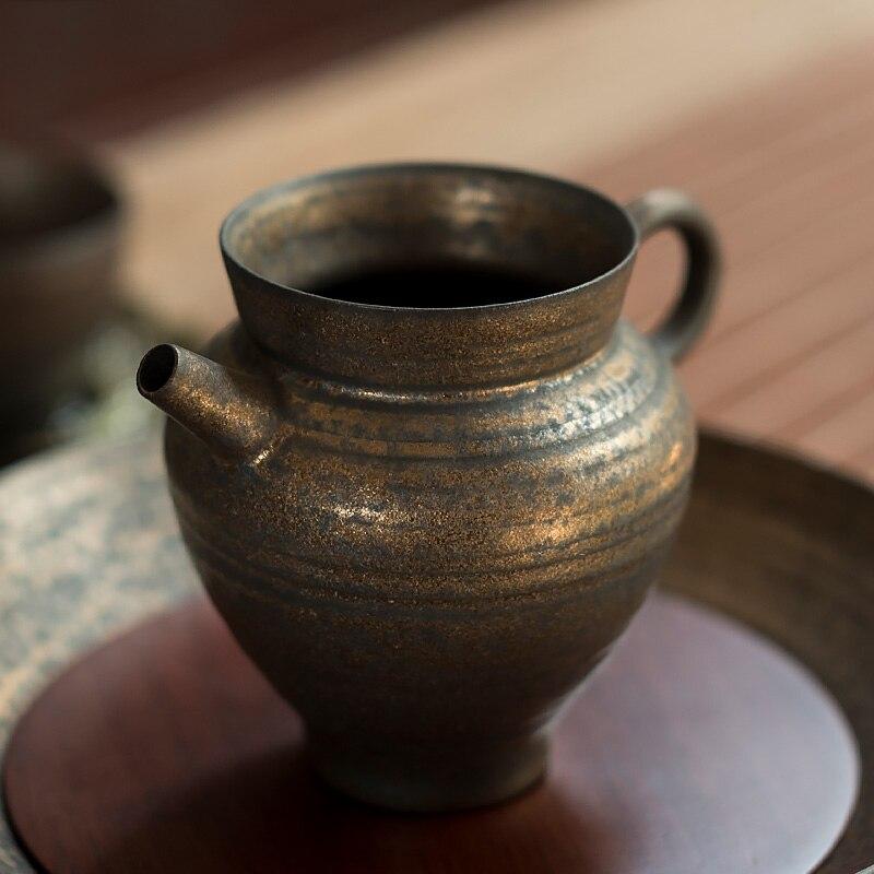 LUWU السيراميك الشاي أباريق chahai الشاي infusers الصينية الكونغ فو الشاي الملحقات 200 مللي