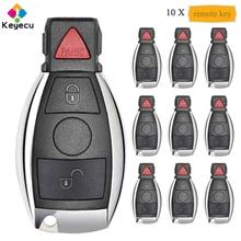 KEYECU 10PCS KYDZ Smart Remote Control Car Key With 315MHz/ 433MHz & 2 1/ 3 Button - FOB for Mercedes BENZ 2000+ NEC & BGA Model